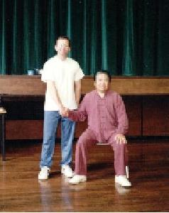 Larry Joint Effort Chinese Martial Arts Tai Chi Seminar with Fu Sheng Yuan